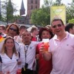 Public Viewing in Kaiserslautern