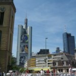 Public Viewing in Frankfurt