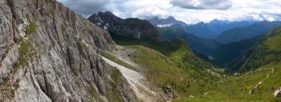 Panorama beim Alpencross