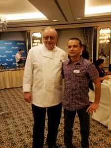 Beim Showkochen mit Alfons Schuhbeck