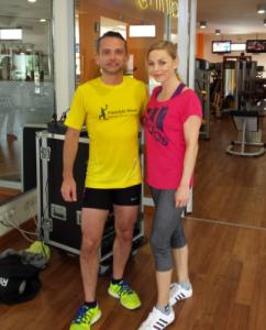 Regina Halmich Fitnessweek 2014